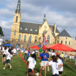 The Fun Run at Roanoke Catholic was also a fundraiser.
