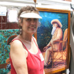 Roanoke County artist Margaret Sue Turner Wright.