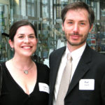 Paul Harrill (Visual Artist Award Recipient) and wife Ashley Maynor.