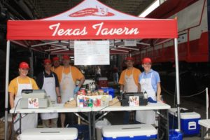 The Texas Tavern kitchen crew hits the road.