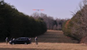 Aerial inspection of energy pipelines is federally required and typically performed using manned aircraft flying.