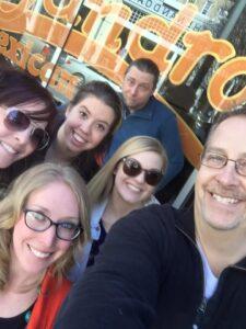 The creative team from B2C Enterprises.