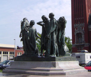 Auguste Rodin: Burghers of Calais.